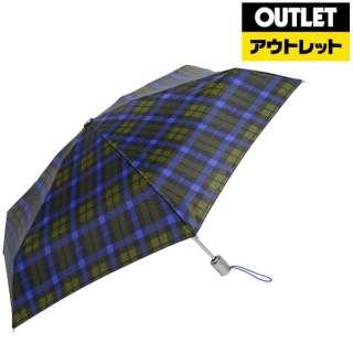 【アウトレット品】 【折りたたみ傘】トーツミニ自動50センチ タータンチェック 8364B66 【数量限定品】