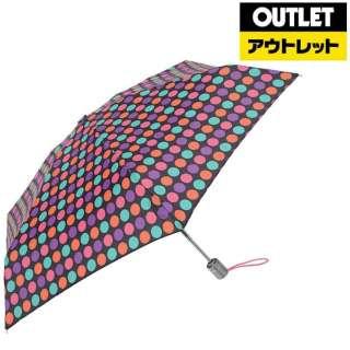 【アウトレット品】 【折りたたみ傘】トーツミニ自動50センチ マルチドット 8364I17 【数量限定品】