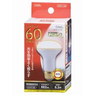 LDR6L-W A9 LED電球 LEDdeQ ホワイト [E26 /電球色 /1個 /60W相当 /レフランプ形]