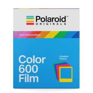 Polaroid Originals インスタントフィルム Color Film For 600 Color Frames 4672