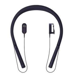 ブルートゥース 骨伝導イヤホン earsopen ブラック HA-3-CL-1001 [マイク対応 /骨伝導 /Bluetooth]