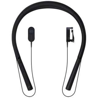 ブルートゥース 骨伝導イヤホン earsopen ブラック BT-3-CL-1001 [マイク対応 /骨伝導 /Bluetooth]
