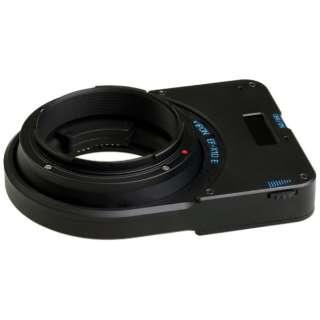 マウントアダプター Canon EF-X1D E【ボディ側:キヤノンEFマウント/レンズ側:ハッセルブラッドX1D】