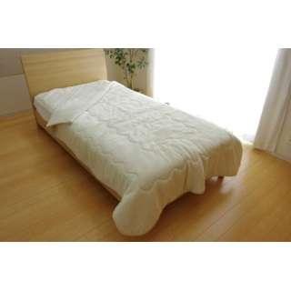17 フランIT2枚合わせ毛布(ダブルサイズ/180×200cm/アイボリー)