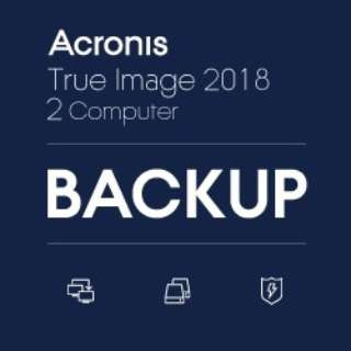 Acronis True Image 2018 - 2 Computers TI2OL1LOS [Windows用] 【ダウンロード版】