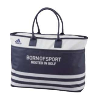 a1267df0a926 Unisex golf Accessory 3 stripe tote bag (navy) AWU48  own name  non-correspondence