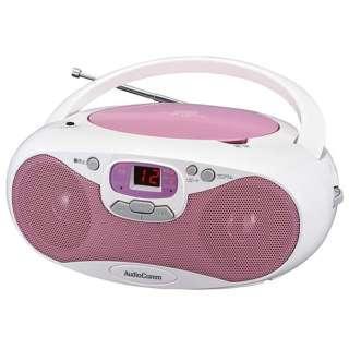 CDラジオ RCR-530N-P ピンク [ワイドFM対応]