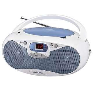 RCR-530N-A CDラジオ AudioComm ブルー [ワイドFM対応]