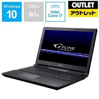 【アウトレット品】 15.6型ゲーミングノートPC[Win10 Home・Core i7・SSD 256GB・HDD 1TB・メモリ16GB・GTX960M]NGNI67M1S2H1X96BW10 【生産完了品】