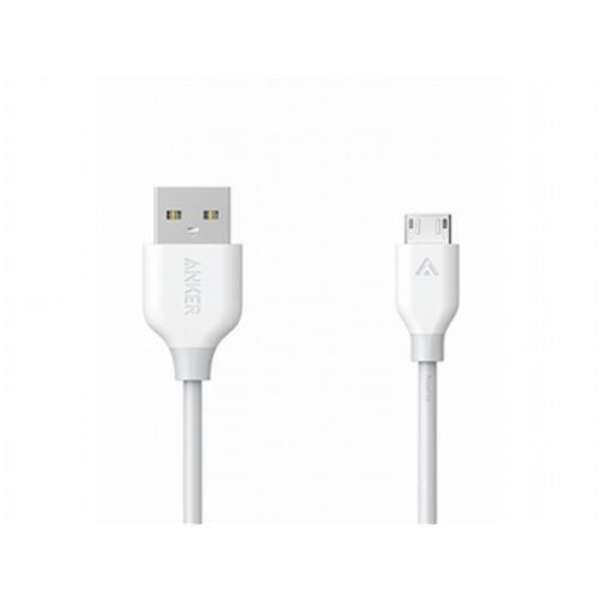 Anker PowerLine Micro USBケーブル(0.9m ホワイト)