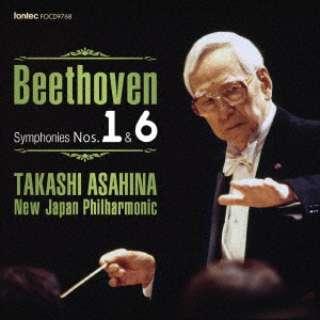 朝比奈隆 新日本フィル/ベートーヴェン 交響曲全集 1 交響曲 第1番・第6番「田園」 【CD】
