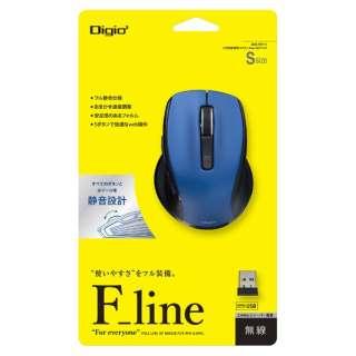 MUS-RKF141BL マウス Digio2 F_lineシリーズ ブルー [BlueLED /5ボタン /USB /無線(ワイヤレス)]