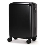 TSAロック搭載スーツケース amadana TAG label ハードジッパー AT-SC11S マットブラック 【ビックカメラグループオリジナル】