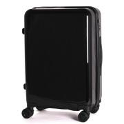 TSAロック搭載スーツケース amadana TAG label ハードジッパー AT-SC11M メタリックブラック 【ビックカメラグループオリジナル】
