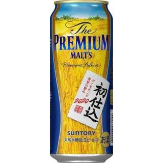 [数量限定] ザ・プレミアム・モルツ初仕込 (500ml/24本)【ビール】