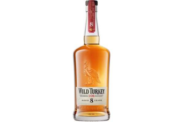 バーボンのおすすめ24選 「ワイルドターキー 8年」(度数:50度)