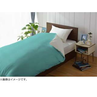 【掛ふとんカバー】amadana キングロングサイズ(綿100%/230×230cm/MIZU)[生産完了品 在庫限り]
