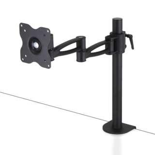 モニターアーム[10~27インチ] 鉄腕 4軸1面用 CMA4A-SM ブラック