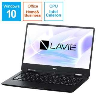 PC-NM150KAB ノートパソコン LAVIE Note Mobile パールブラック [12.5型 /intel Celeron /SSD:128GB /メモリ:4GB /2018年1月モデル]