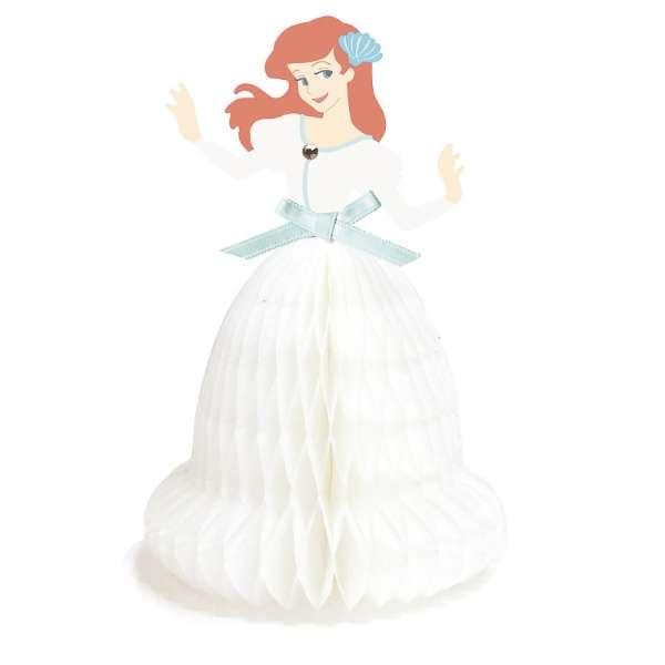 [グリーティングカード]プリンセスハニカムミニカード アリエル 1000065161