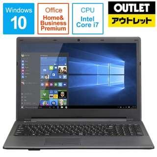 【アウトレット品】 15.6型ノートPC [Office・Win10 Home・Core i7・HDD 1TB・メモリ 8GB・Office] LBI7M8H1W10 【数量限定品】