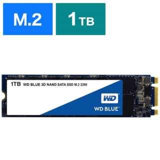 WDS100T2B0B 内蔵SSD WD BLUE 3D NAND SATA SSD [M.2 /1TB] 【バルク品】