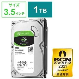ST1000DM010 内蔵HDD BarraCuda [3.5インチ /1TB] 【バルク品】
