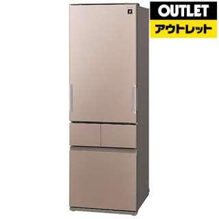 【アウトレット品】 SJ-GT41B-T 冷蔵庫 プラズマクラスター冷蔵庫 サテンブラウン [4ドア /左右開きタイプ /410L] 【生産完了品】