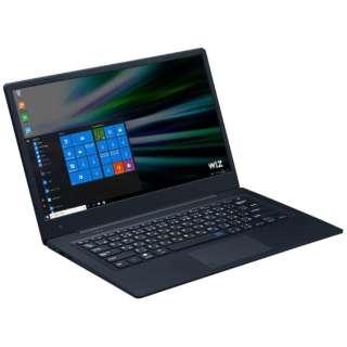 KBM14HDR2 ノートパソコン WiZ ブラック [14.1型 /intel Atom /eMMC:32GB /メモリ:4GB /2017年4月モデル]