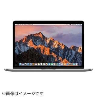 MacBookPro 13インチ Touch Bar搭載 USキーボードモデル[2016年/SSD 256GB/メモリ 8GB/2.9GHzデュアルコア Core i5]スペースグレイ MLH12J/AA