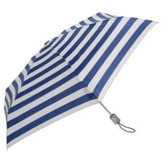 【折りたたみ傘】トーツミニ自動 50センチ ストライプ 8364