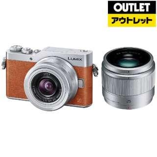 【アウトレット品】 ミラーレス一眼カメラ LUMIX  DC-GF9W-D [ダブルレンズキット(ズームレンズ+単焦点)] オレンジ 【展示品】