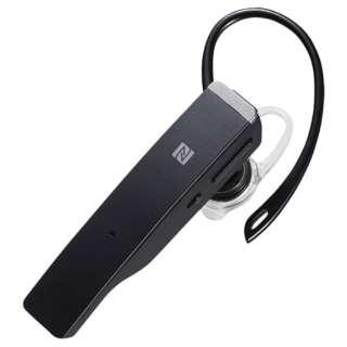 BSHSBE500BK ヘッドセット ブラック [ワイヤレス(Bluetooth) /片耳 /イヤフックタイプ]
