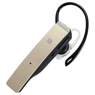 BSHSBE500GD ヘッドセット ゴールド [ワイヤレス(Bluetooth) /片耳 /イヤフックタイプ]