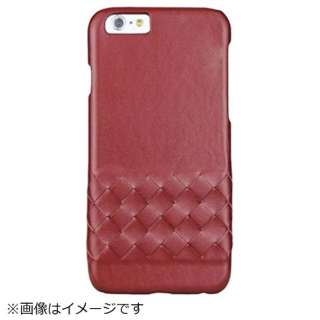 iPhone 6s/6用 BUSHBUCK Elegant Genuine Leather レッド