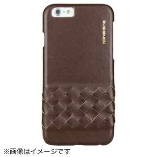iPhone 6s/6用 BUSHBUCK Elegant Genuine Leather ブラウン