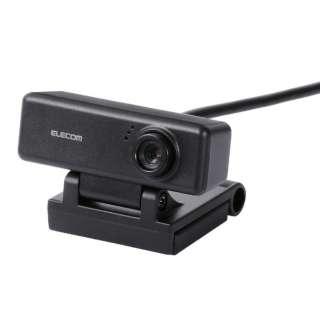 UCAM-C310FBBK ウェブカメラ ブラック [有線]