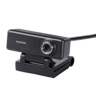 UCAM-C520FBBK ウェブカメラ ブラック [有線]