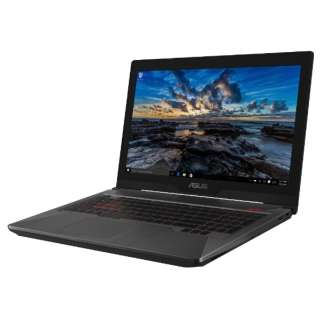 FX503VD-E4047T ゲーミングノートパソコン ブラック [15.6型 /intel Core i7 /HDD:1TB /SSD:128GB /メモリ:8GB /2018年1月モデル]