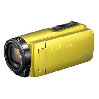 GZ-R480 ビデオカメラ EverioR(エブリオR) シトロンイエロー [フルハイビジョン対応 /防水+防塵+耐衝撃]