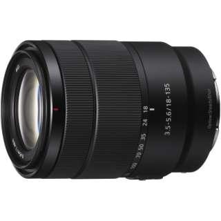 カメラレンズ E 18-135mm F3.5-5.6 OSS APS-C用 ブラック SEL18135 [ソニーE /ズームレンズ]
