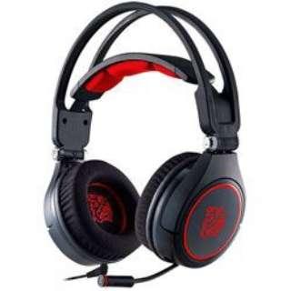 HT-CRA-ANECBK-14 ゲーミングヘッドセット CRONOS AD [φ3.5mmミニプラグ+USB /両耳 /ヘッドバンドタイプ]