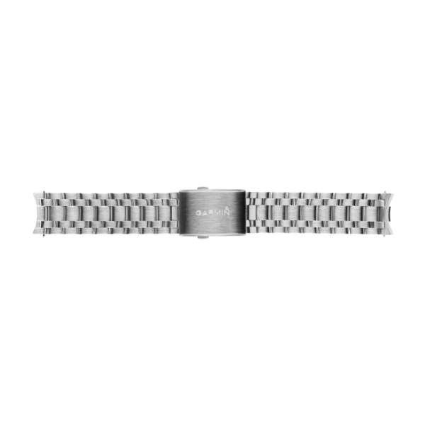 ウェアラブル端末用交換ベルト chronos用 010-12419-02 Stainless Steel