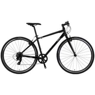【単品購入時メーカー直送】700×32C型 クロスバイク バカンゼ2-K(ブラック/480サイズ《適応身長:170cm以上》) NE-18-006【2018年モデル】 【組立商品につき返品不可】