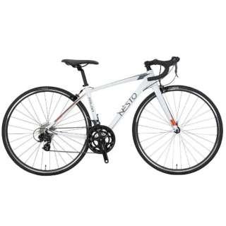 700×25C型 ロードバイク ファラド-K(ホワイト/430サイズ《適応身長:150cm以上》) NE-18-011【2018年モデル】 【組立商品につき返品不可】