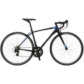 700×25C型 ロードバイク ファラド-K(マットブラック/430サイズ《適応身長:150cm以上》) NE-18-011【2018年モデル】 【組立商品につき返品不可】