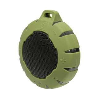 ブルートゥース スピーカー OWL-BTSPWP01-KH カーキ [Bluetooth対応 /防水]