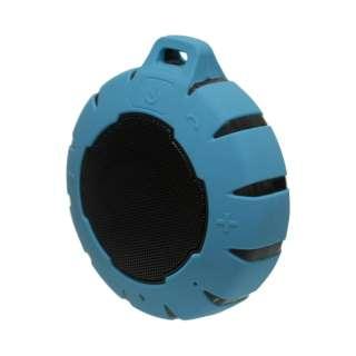 ブルートゥース スピーカー OWL-BTSPWP01-LB ライトブルー [Bluetooth対応 /防水]