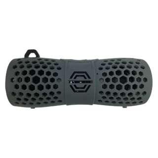 OWL-BTSPWP02-GY ブルートゥース スピーカー グレー [Bluetooth対応 /防水]