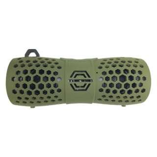 OWL-BTSPWP02-KH ブルートゥース スピーカー カーキ [Bluetooth対応 /防水]